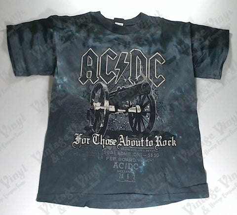 AC/DC - Blue Salute Liquid Blue Shirt