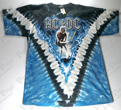 AC/DC - Let There Be Rock Liquid Blue Shirt