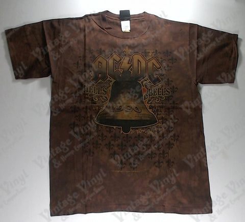 AC/DC - Brown Bell Liquid Blue Shirt