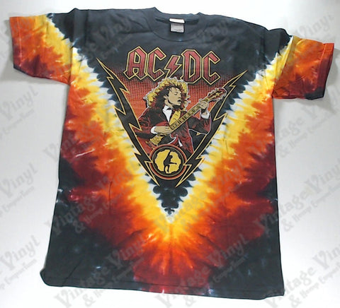 AC/DC - Burning Angus Liquid Blue Shirt