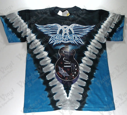 Aerosmith - Blue Guitar Liquid Blue Shirt