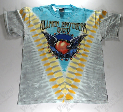 Allman Brothers Band - Winged Peach Liquid Blue Shirt