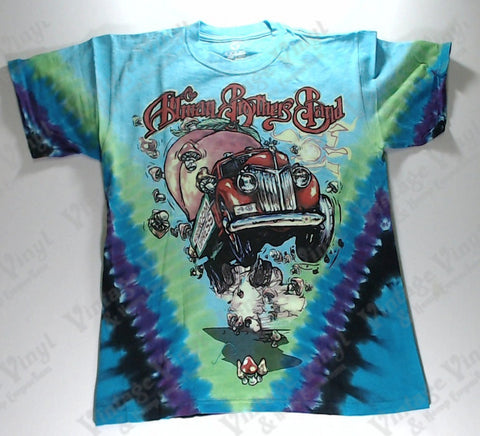 Allman Brothers Band - Mushroom Express Liquid Blue Shirt