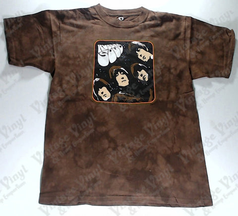 Beatles, The - Rubber Soul Liquid Blue Shirt
