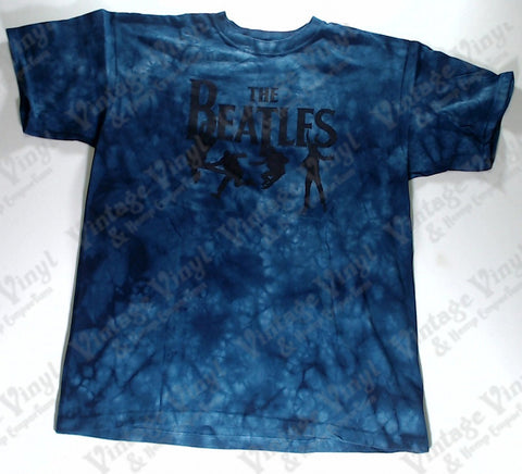 Beatles, The - Blue Band Liquid Blue Shirt