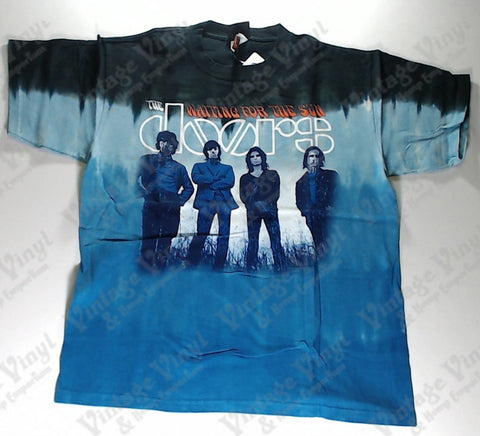 Doors, The - Waiting For The Sun Liquid Blue Shirt