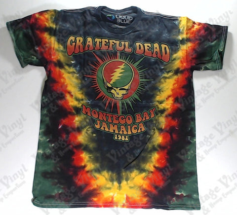 Grateful Dead - Montego Bay Liquid Blue Shirt