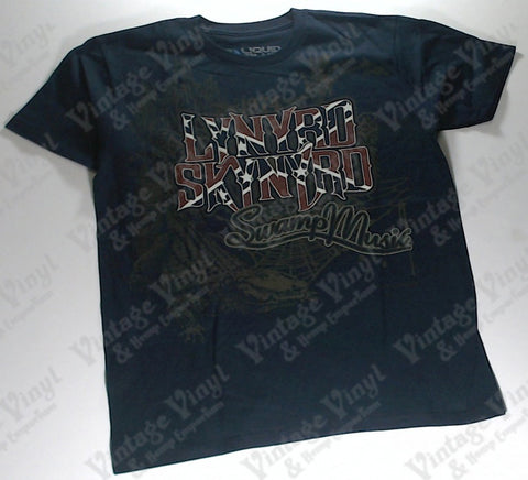 Lynyrd Skynyrd - Swamp Music Liquid Blue Shirt
