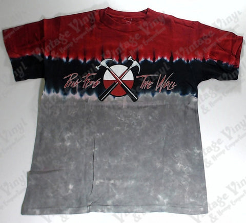 Pink Floyd - The Wall Hammers Red and Grey Layered Liquid Blue Shirt