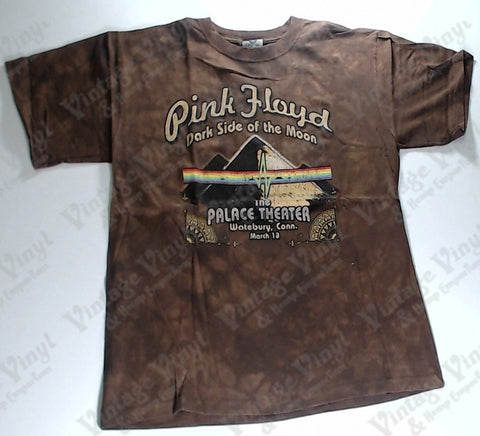 Pink Floyd - Dark Side Palace Theater Pyramids Brown Liquid Blue Shirt