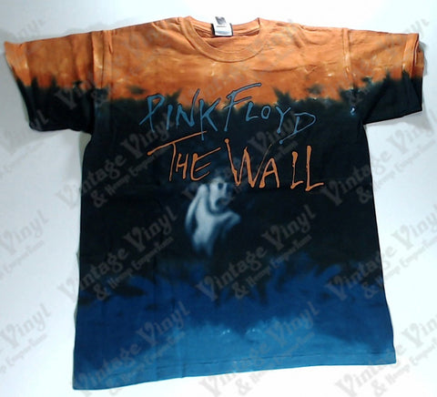 Pink Floyd - The Wall Ghostly Figure Layered Liquid Blue Shirt