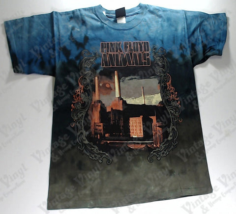 Pink Floyd - Animals Power Station Layered Liquid Blue Shirt