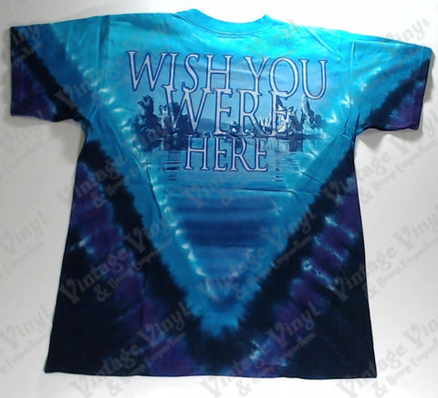 Pink Floyd - Wish You Were Here Diver V Liquid Blue Shirt