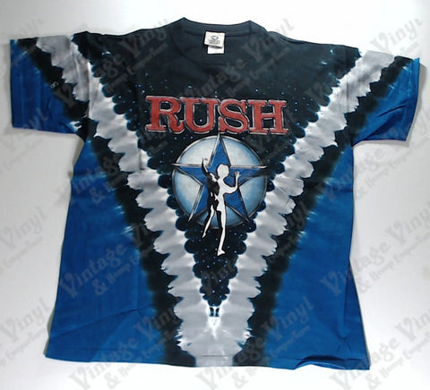 Rush - Blue Star Man V Liquid Blue Shirt