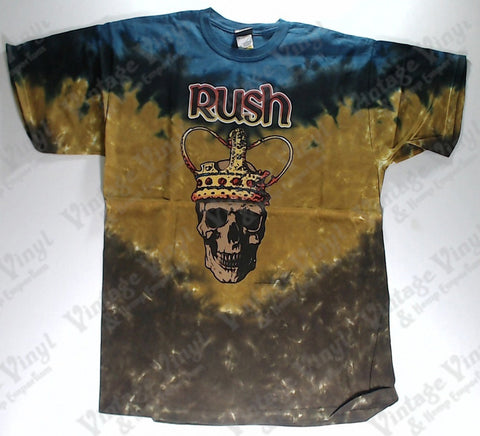 Rush - Crowned Skull Layered Liquid Blue Shirt