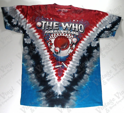 Who, The - Pinball Wizard V Liquid Blue Shirt