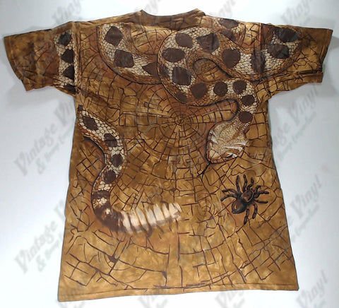 Animals - Rattle Snake, Scorpion and Tarantula Novelty Liquid Blue Shirt