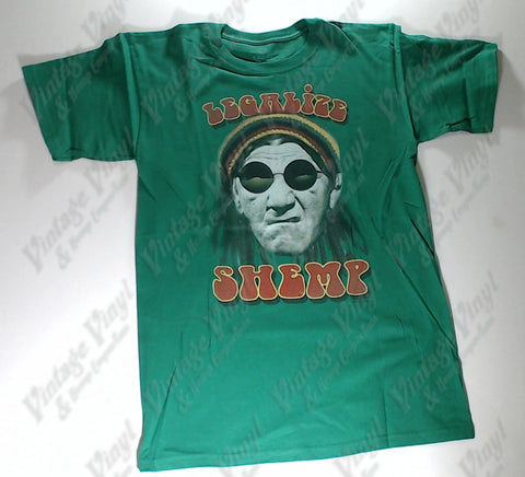 Three Stooges, The - Legalize Shemp Green Liquid Blue Shirt