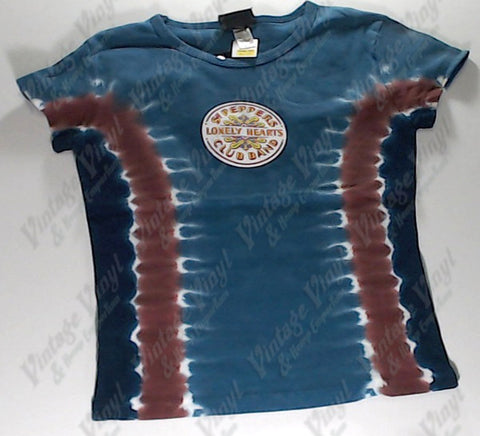 Beatles, The - Sgt Pepper Liquid Blue Girlie Shirt