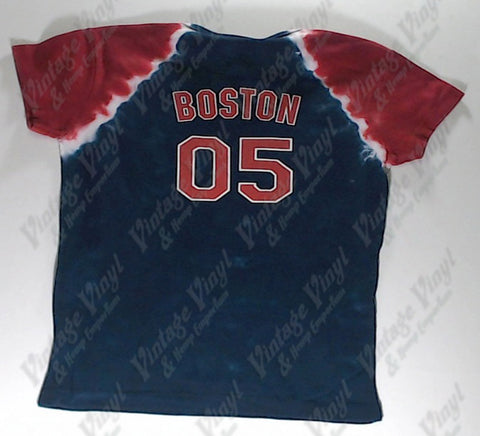 Rolling Stones, The - Stones Boston #05 Jersey Liquid Blue Girlie Shirt