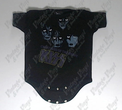 Kiss - Creatures Of The Night Baby Onesie