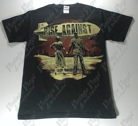 Rise Against - Yellow Blimp Man And Woman Shirt