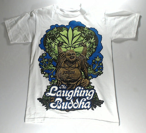 Buddha - The Laughing Buddha White Shirt