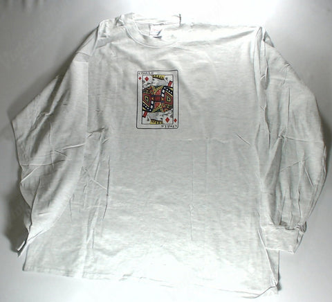 Chills - King Of Diamonds White Long Sleeve Shirt