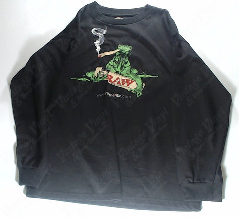 RAW - Smoking Iguana Long Sleeve Shirt