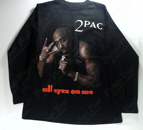 Tupac - All Eyes On Me Long Sleeve Shirt