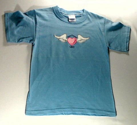 New Found Glory - Blue Winged Heart Boys Youth Shirt