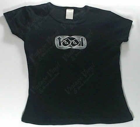 Tool - White Spirogram Logo Girls Youth Shirt
