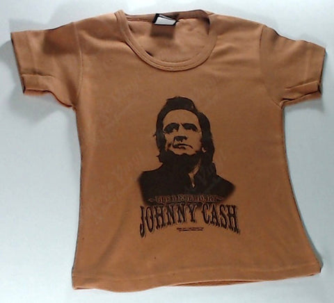 Cash, Johnny - The Legendary… Brown Girls Youth Shirt