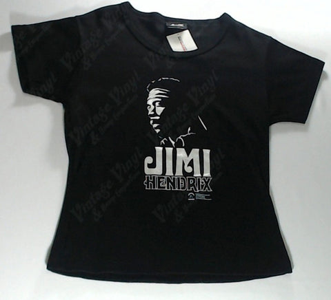 Hendrix, Jimi - Silver Face Logo Girls Youth Shirt