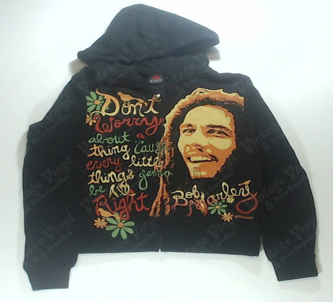 Marley, Bob - Dont Worry, Everything'll Be Alright Womens Zip-Up Hoodie