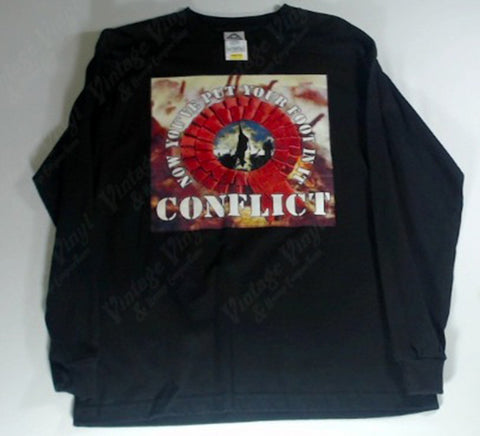 Conflict - Now You've Put Your Foot in It Long Sleeve Shirt