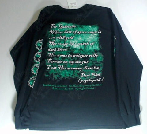 Cradle Of Filth - Green Woman Long Sleeve Shirt