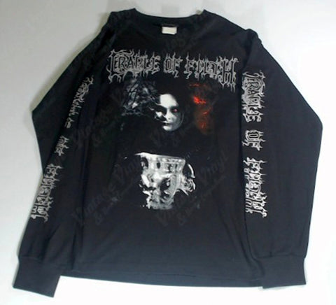 Cradle Of Filth - Smoke and Fire Chalice Black Is My Heart Long Sleeve Shirt