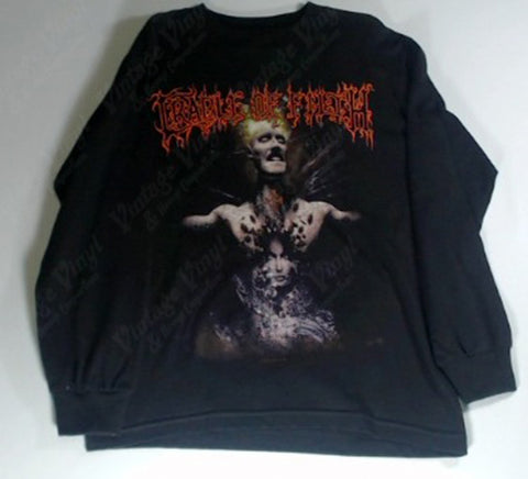 Cradle Of Filth - Figure In Chest Long Sleeve Shirt