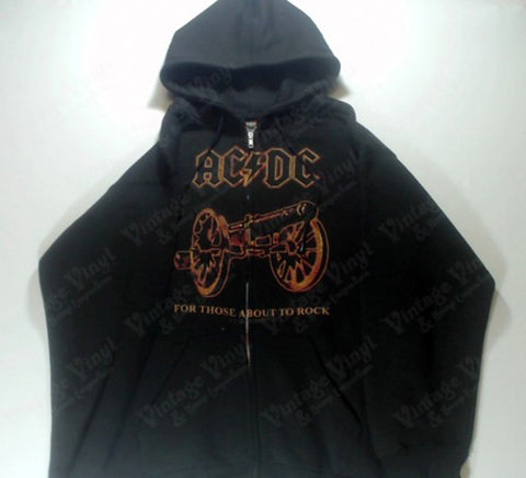 AC/DC - For Those About To Rock Zip-Up Hoodie
