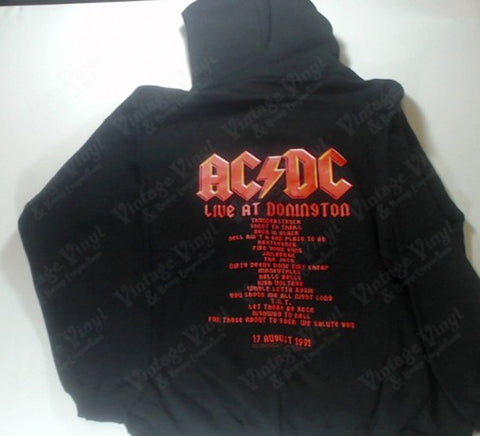 AC/DC - Highway To Hell Band Members Zip-Up Hoodie