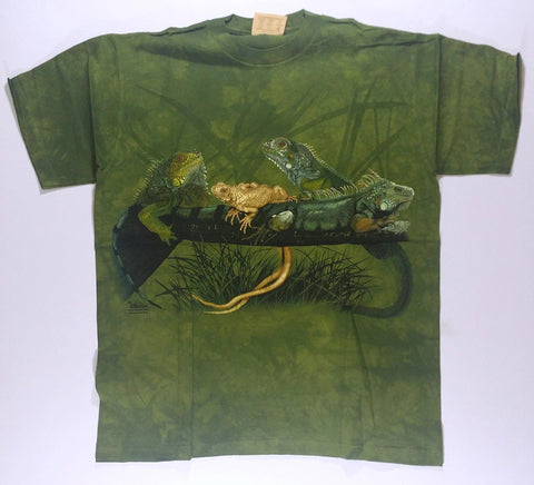 Reptiles - Iguanas Mountain Shirt