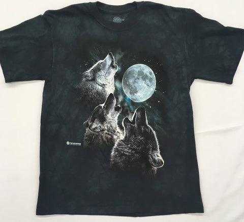 Wolves- Three Wolf Moon Mountain Shirt