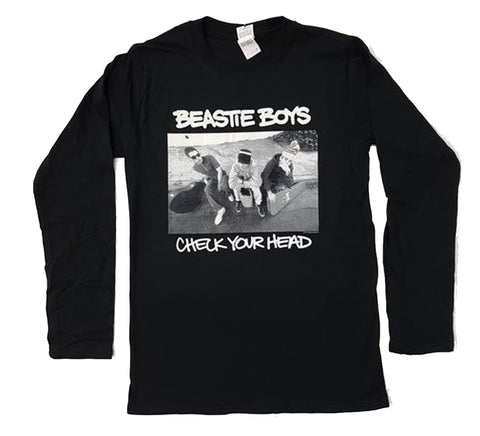 Beastie Boys - Check Your Head Black Longsleeve Shirt