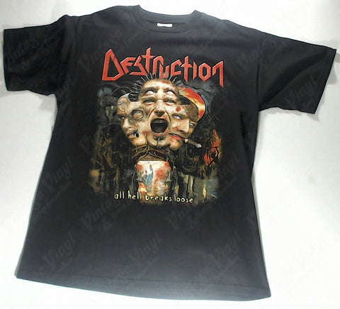 Destruction - All Hell Breaks Loose Shirt
