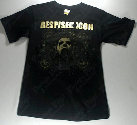Despised Icon - Gold Logo Dripping Face Shirt