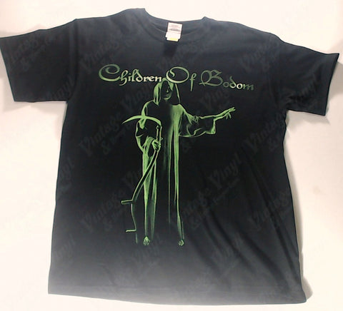 36a58f14 Children Of Bodom - Green Reaper Hatebreeder Shirt