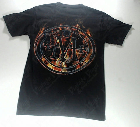 Cradle Of Filth - Flaming Logo Shirt