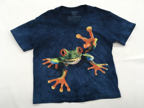 Frogs- Peace Frog Youth Mountain Shirt
