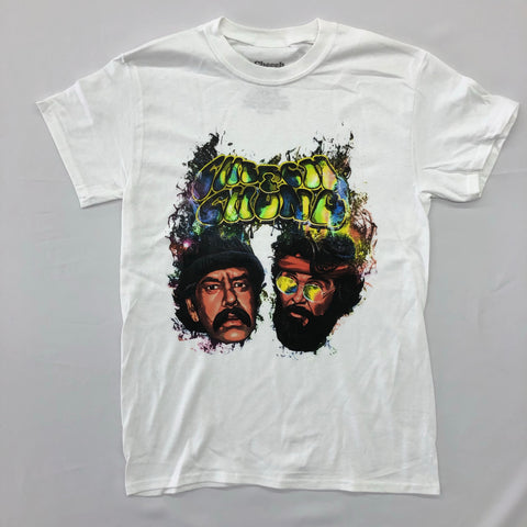 Cheech & Chong - Galaxy Heads White Shirt